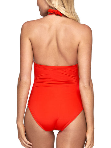 One Piece Halter Flame