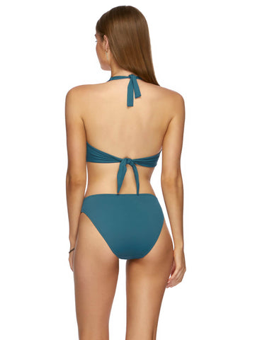 Jets D/DD Twist Halter Blue