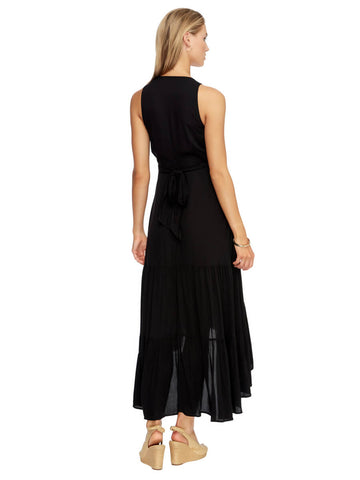 JETS Atacama Multi Tie Maxi Dress Black
