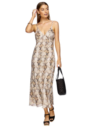 Jets Awakening Slip Dress Nude