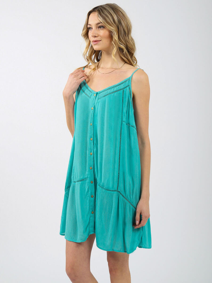 Koy Resort Miami Mini Dress Ocean Breeze