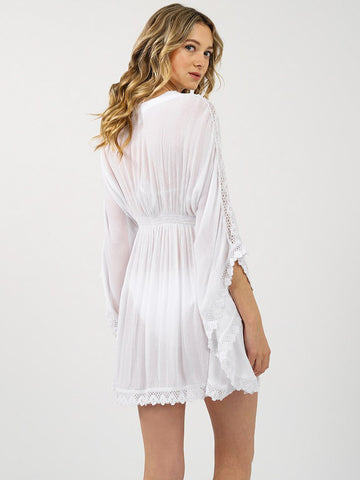 Koy Resort Miami Kaftan White