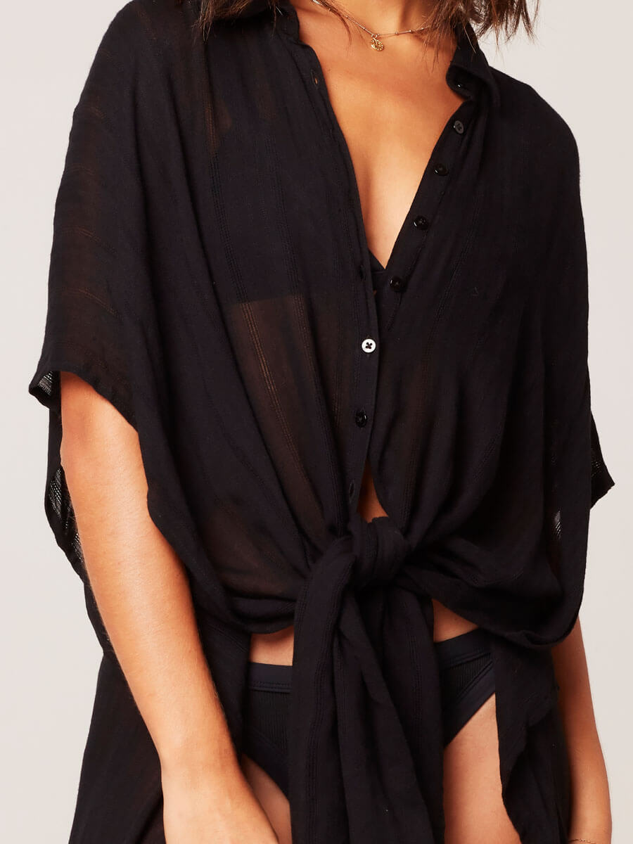 L*Space Anita Cover Up Black