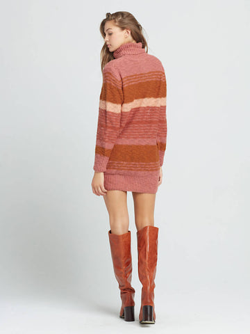 L*Space Jetsetter Sweater Dress in Serape Stripe