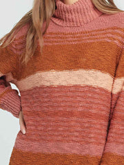 L*Space Jetsetter Sweater Dress in Serape Stripe, view 3, click to see full size