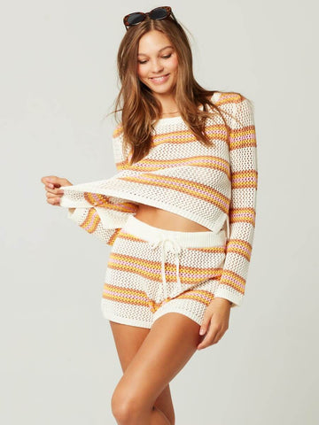 L*Space On The Horizon Sweater Stripe
