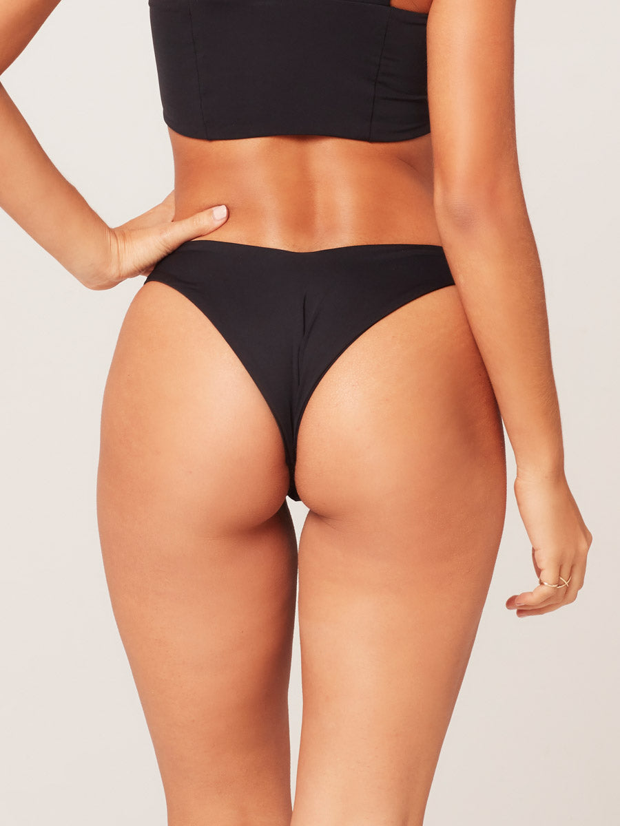 L*Space Cabana Bottom Black