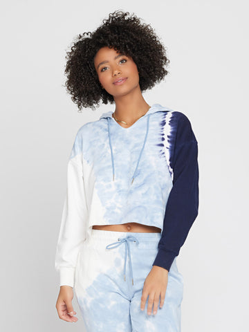 L*Space South Swell Pullover in Seven Seas