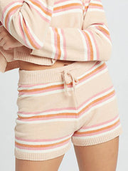 L*Space Sun Seeker Short in Stripe, view 1, click to see full size