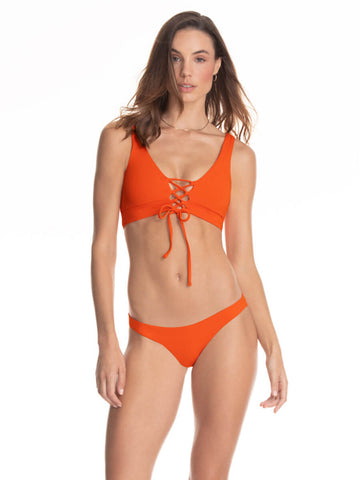 Maaji Ginger Orange Allure Top in Orange