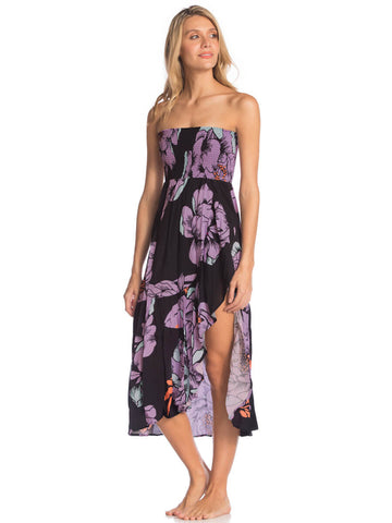 Maaji Spell Femina Convertible Long Skirt in Black Lilac