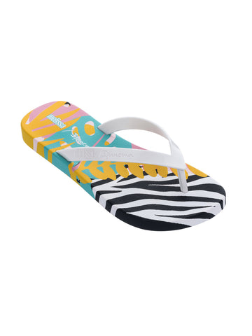 Melissa Melissa + Ipanema Sandals White/Yellow/Black