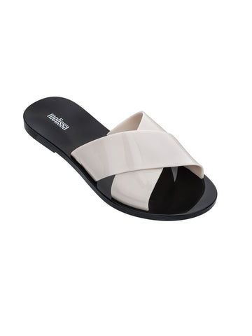 Melissa Melissa Essential Slide Sandals Beige/Black