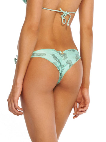 Passaro Ripple Tie Brazilian Bottoms Light Green