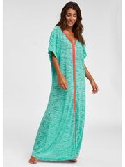 Pitusa Inca Abaya Mint, view 1, click to see full size