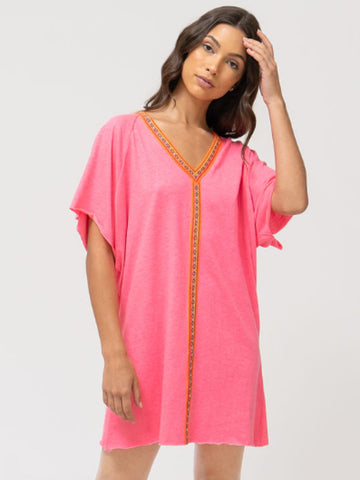 Pitusa Mini Abaya Hot Pink