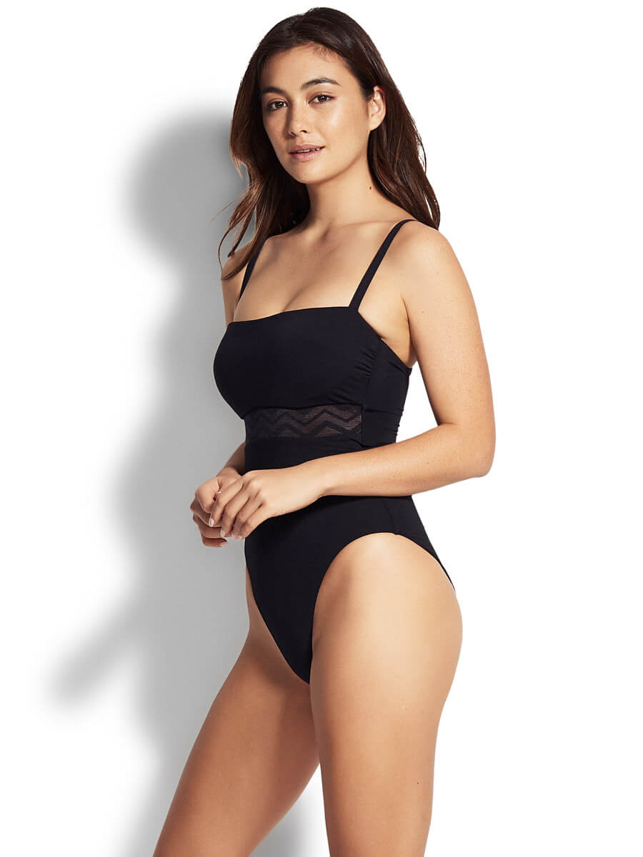 Seafolly Active DD Maillot One Piece Black