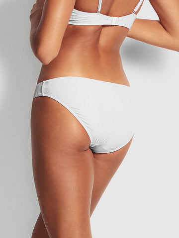 Seafolly Capri Sea Hipster White