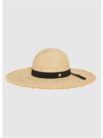 Seafolly Raffia Panama Hat Natural