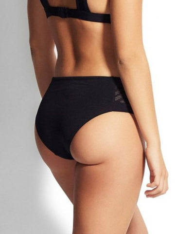 Seafolly Active Zig Zag Retro Bottom Black