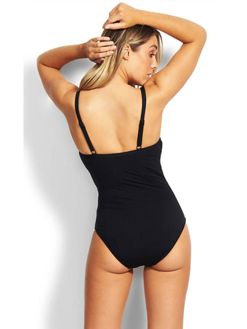 Seafolly Active DD Cup Maillot Black