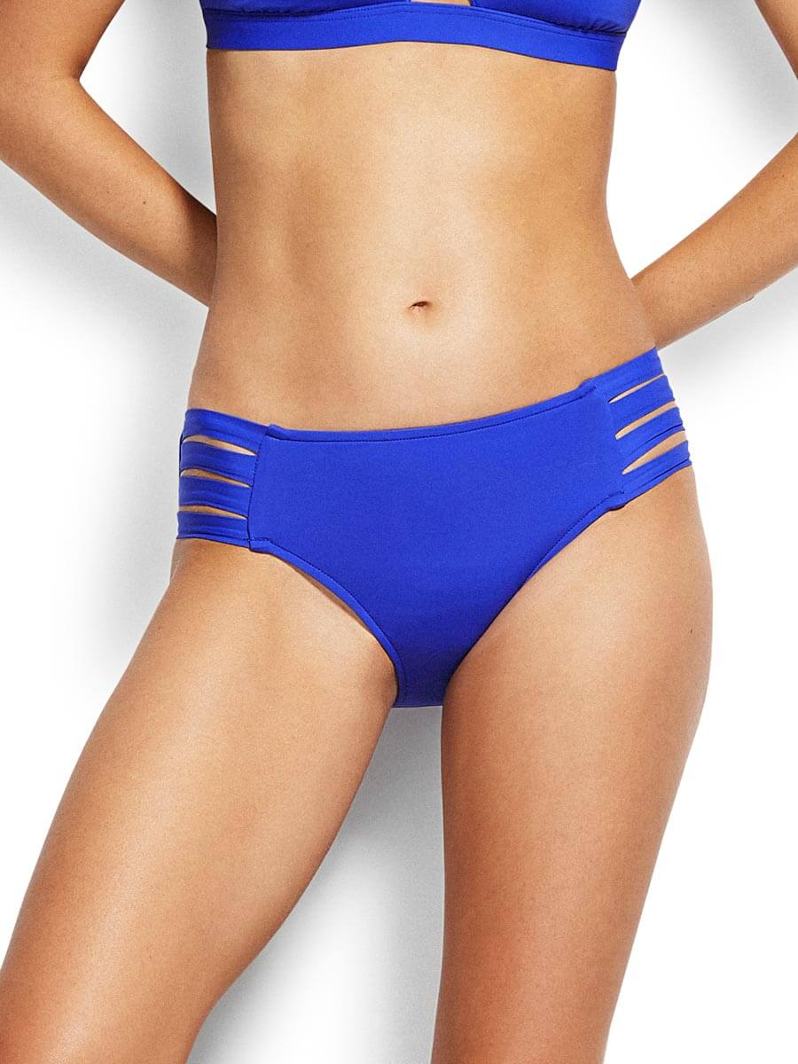 Seafolly Active Multi Strap Hipster Cobalt
