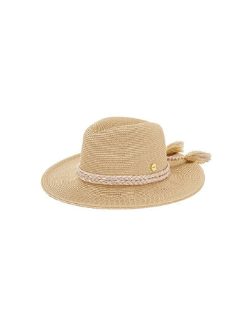 Seafolly Collapsible Fedora Gold
