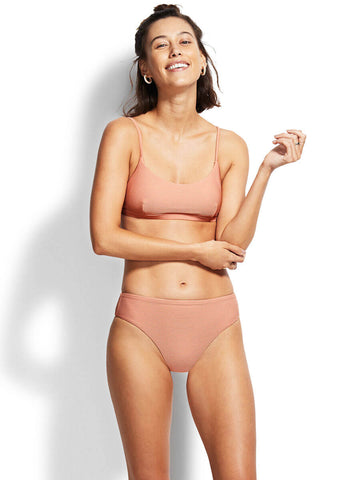 Seafolly Essentials Bralette Rose Sands