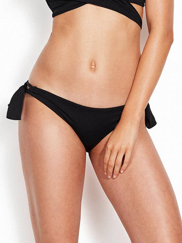 Seafolly Loop Tie Side Hipster Black