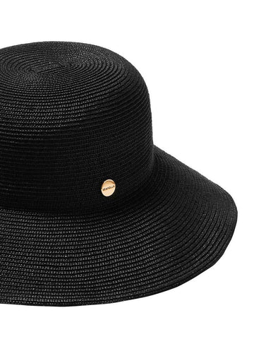 Seafolly Newport Fedora Black