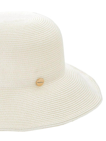 Seafolly Newport Fedora White
