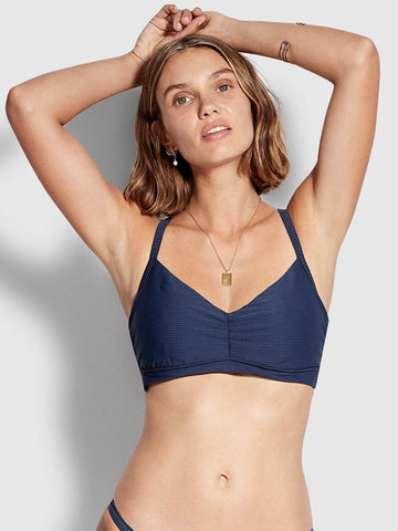 Seafolly Summer Sea DD Cup Bralette Indigo