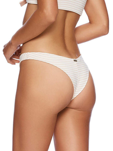 Beach Bunny Sydney High Leg Bottom Tango Stripe