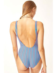 Solid & Striped The Anne-Marie One Piece Tropical Stripe