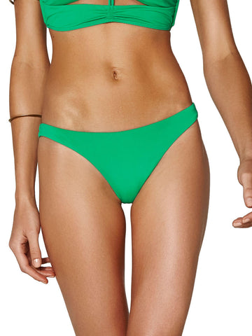 ViX Solid Rio Basic Cheeky Bottom Kelly Green