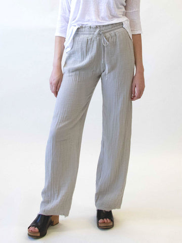 STARKx Long Pants In Pearl Grey