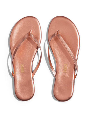 TKEES Shadows Sandals Beach Pearl