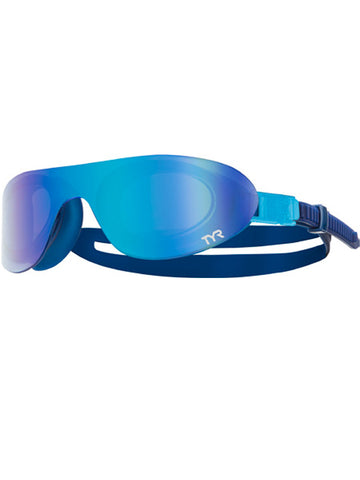 TYR Swim Shades Mirrored Goggles Blue