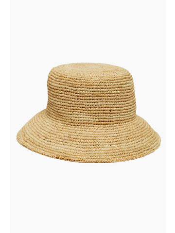 Vitamin A Cannes Bucket Hat in Natural