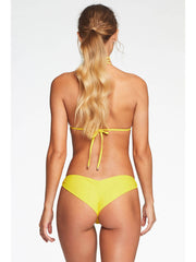 Vitamin A Gia Reversible Triangle Top Yellow EcoLux, view 2, click to see full size