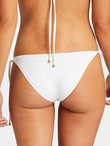 Vitamin A Elle Tie Side Bottom Eco White