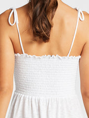 Vitamin A Gigi Dress White, view 4, click to see full size