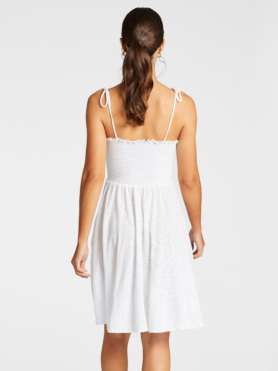 Vitamin A Gigi Dress White