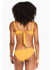 Vitamin A Kaya Top in Iced Mango EcoRib, view 2, click to see full size