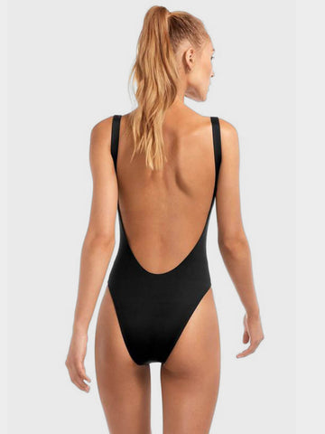 Vitamin A One Piece Leah Bodysuit Eco Black