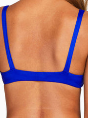 Vitamin A Lou Top in Sardinia Blue EcoLux, view 4, click to see full size