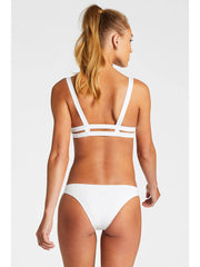 Vitamin A Neutra Bralette Eco White, view 2, click to see full size