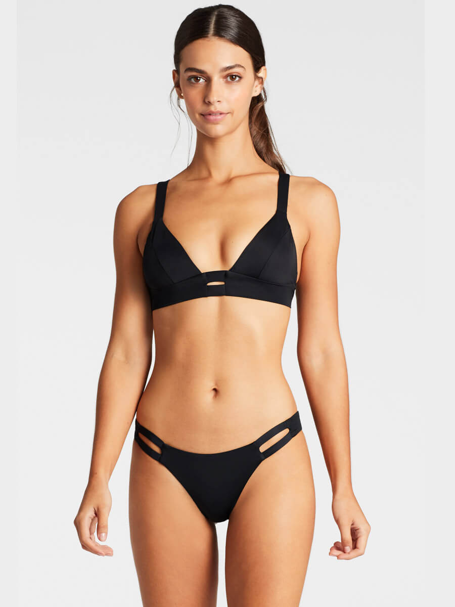 Vitamin A Neutra Bralette Eco Black