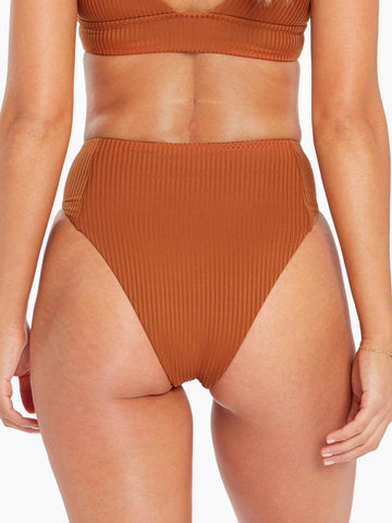 Sienna High Waist In Chai Ecorib