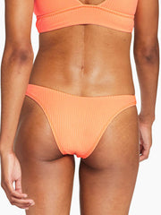 Vitamin A Cali High Leg in Day Glow EcoRib, view 2, click to see full size
